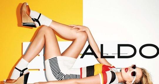 名模演绎ALDO品牌鞋履广告大片